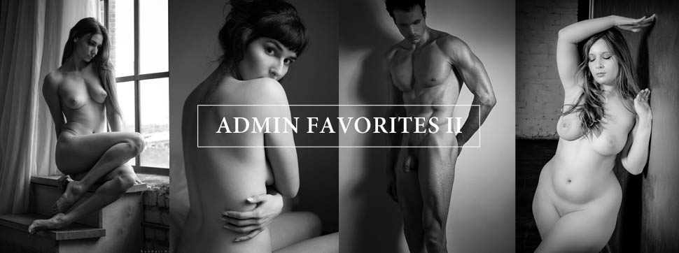Admin favorites nude models and figurative fine art images.
