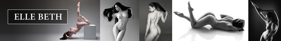 Model Society featured nude art model Elle Beth