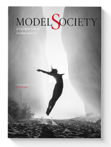 Nude models as fine art in Model Society Mgazine