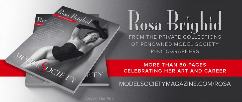 Nude art model Rosa Brighid magazine